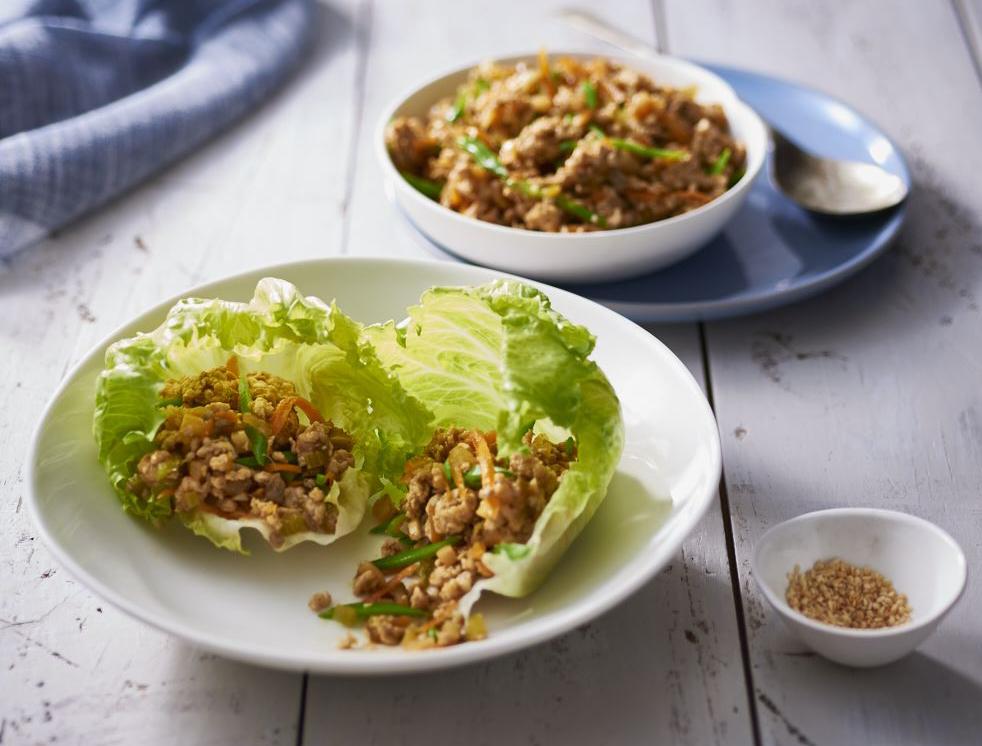 Chicken San Choy Bau