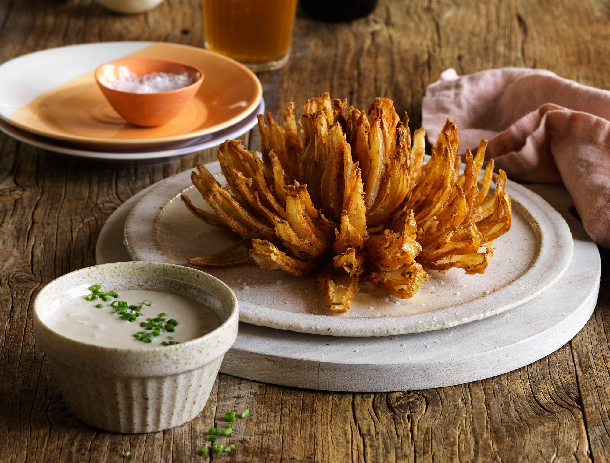 Blooming Onion Cheese dip