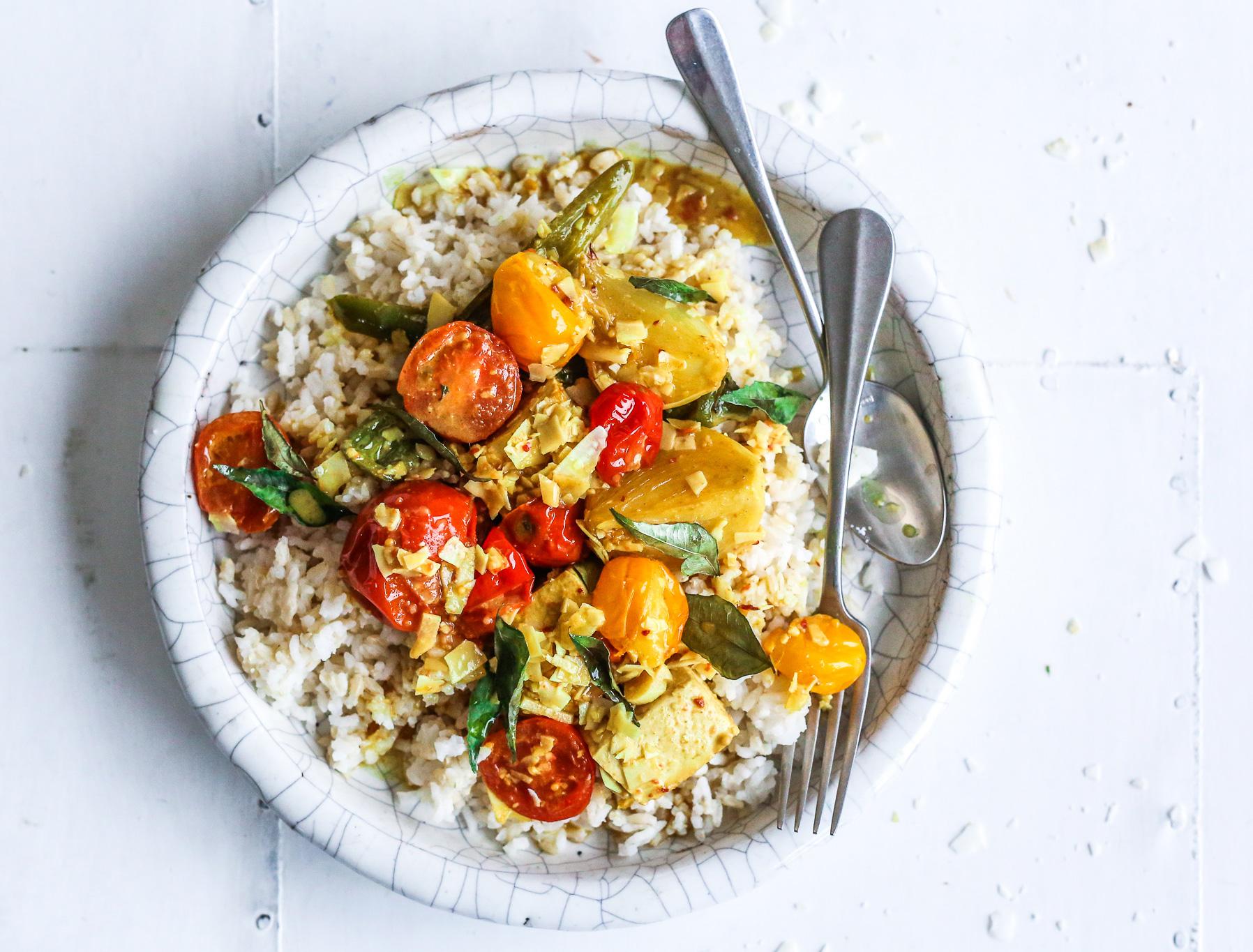 Plant Based Goan Curry